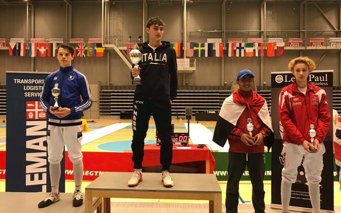 Jaron Kiiroja sai Kopenhaagenis teise koha.