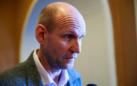 Isamaa/Res Publica chairman Helir-Valdor Seeder.