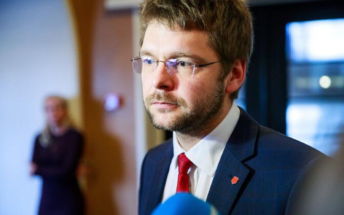 Лидер соцдемов, министр здоровья и труда Евгений Осиновский