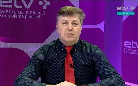 Новый директор Пяхклимяэской гимназии Вячеслав Коновалов.