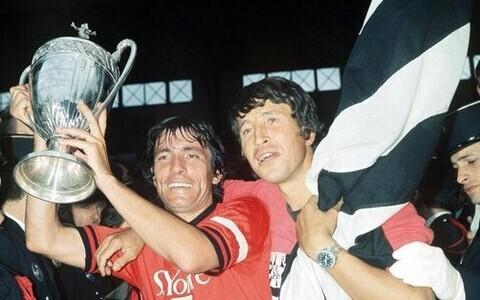 Rennes'i mängijad 1971. aasta Prantsusmaa karikaga