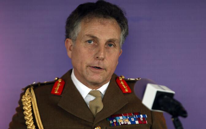 Briti armee kindralstaabi ülem, kindral sir Nick Carter.