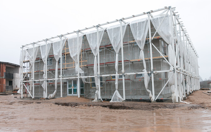 Ramsi lasteaia Taruke uus maja on liginullenergiahoone.