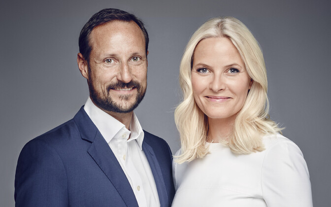 Crown Prince Haakon and Crown Princess Mette-Marit of Norway.