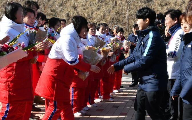 Põhja- ja Lõuna-Korea naiskondade esmakohtumine
