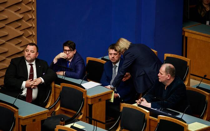 Urmas Reinsalu riigikogus.