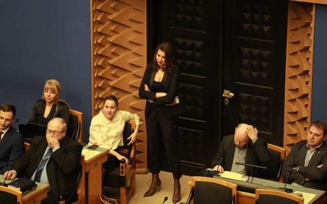 Olga Ivanova Urmas Reinsalu umbusaldushääletusel