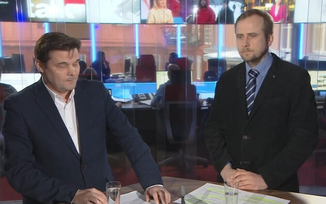 Martin Jaško (paremal) ja Artur Tooman