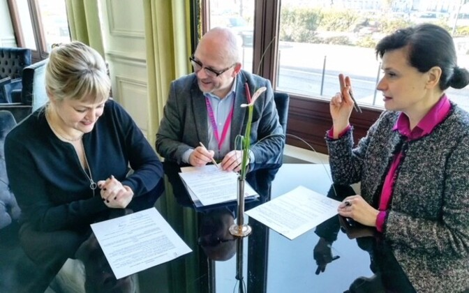 The directors of the three countries' film institutes renewed the agreement in Trieste.