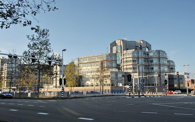 Hollandi julgeolekuteenistuse AIVD hoone Zoetermeeris.