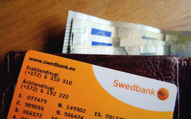 Swedbanki paroolikaart