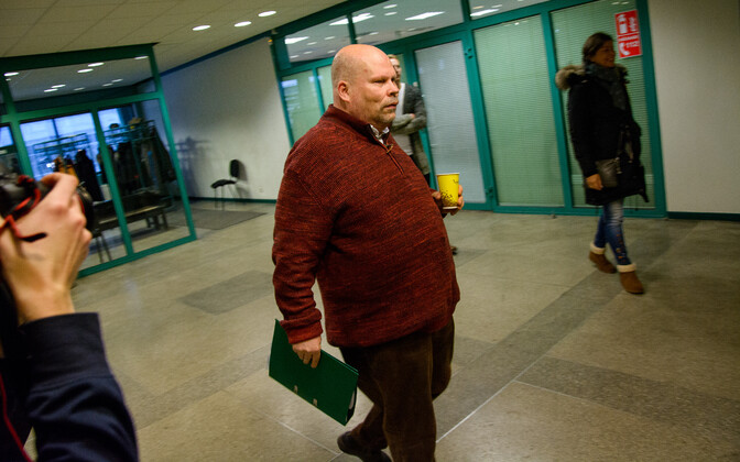 Edgar Savisaar's treating physician Peep Põdder in Harju County Court on Tuesday. Jan. 30, 2018.