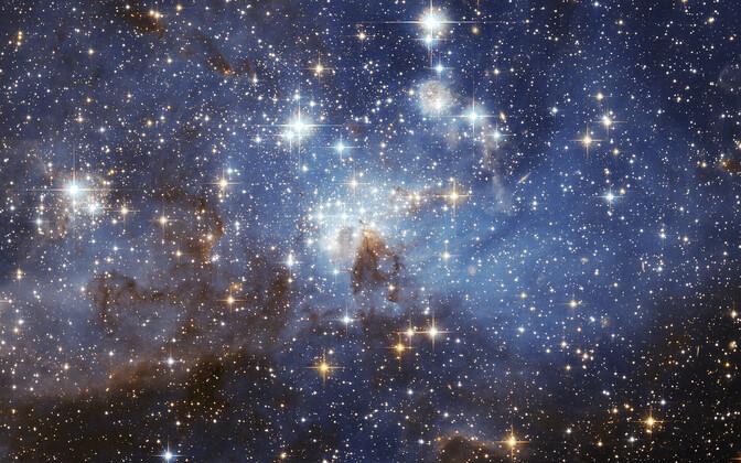 Tähed Suures Magalhãesi Pilves.