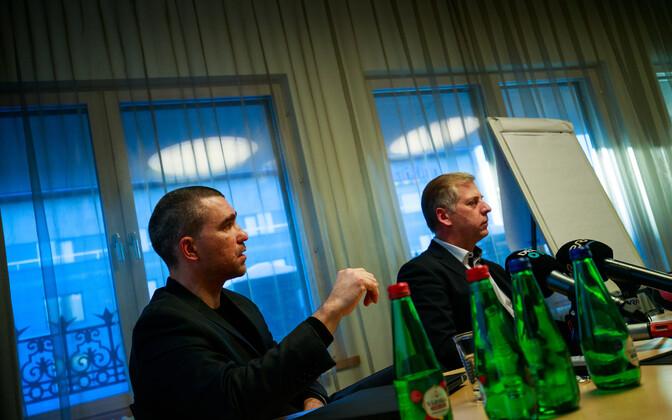 Aigar Kallas ja Margus Kohava.