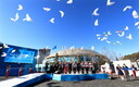 PyeongChangi olümpiakülade avamine.