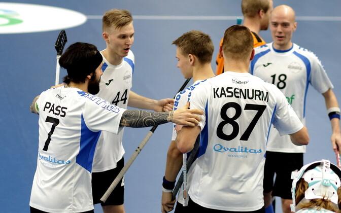 Отборочный матч ЧМ по флорболу: Эстония - Нидерланды