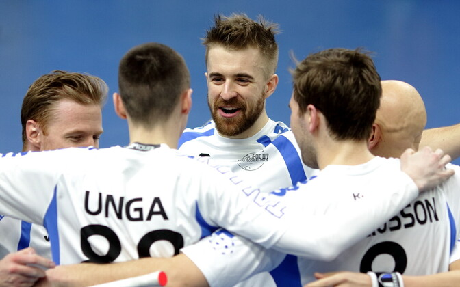 Saalihoki MM-valikmäng: Eesti - Holland