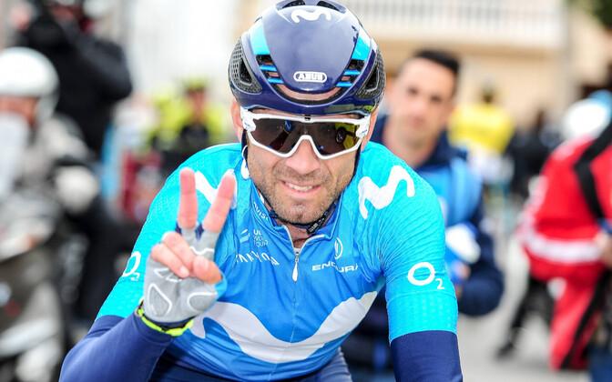 Alejandro Valverde võitis Valencia velotuuri teise etapi.