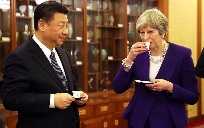 Xi ja May neljapäeval Pekingis.