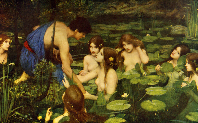 J, W. Waterhouse'i maal