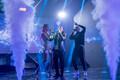 Съёмки первого полуфинала Eesti Laul, Tiiu, Okym и Semy (Тийу, Оким и Семи)