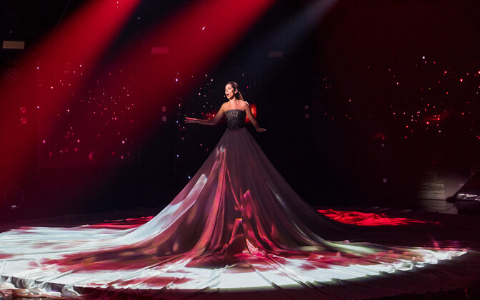 Eesti Laulu I poolfinaali laulude salvestus, Elina Nechayeva