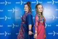 Съёмки первого полуфинала конкурса Eesti Laul, Etnopatsy (Айле Алвеус-Краутманн и Элис Лойк)