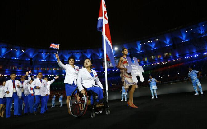 Põhja-Korea 2016 Rio paralümpiamängude avatseremoonial