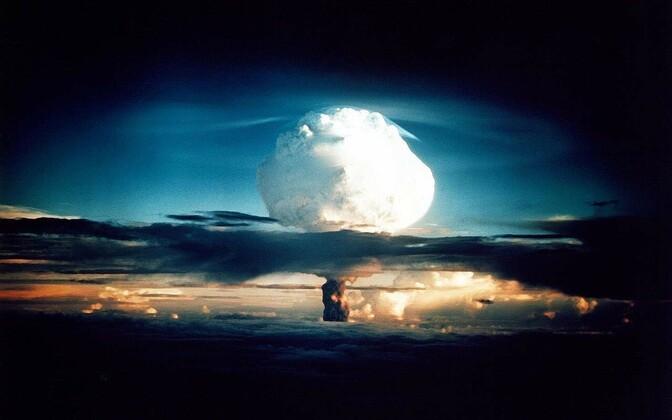 Ядерный взрыв. Иллюстративная фотография.