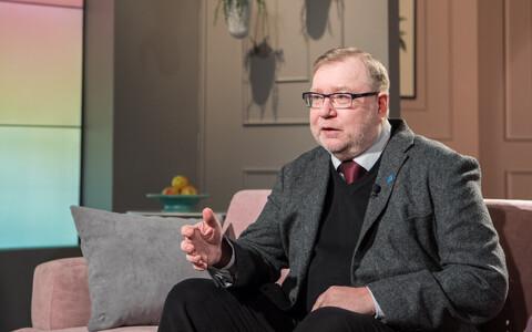 Former Prime Minister Mart Laar.