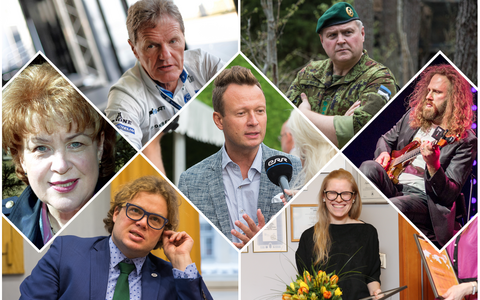The President of Estonia has announced this year's recipients of state decorations.