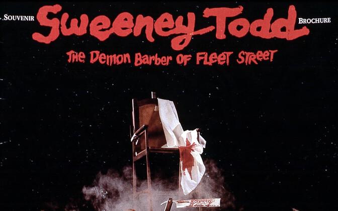 Sweeney Toddi plakat.