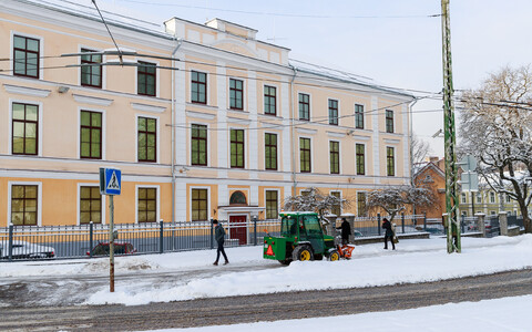 ISS building in Tallinn.