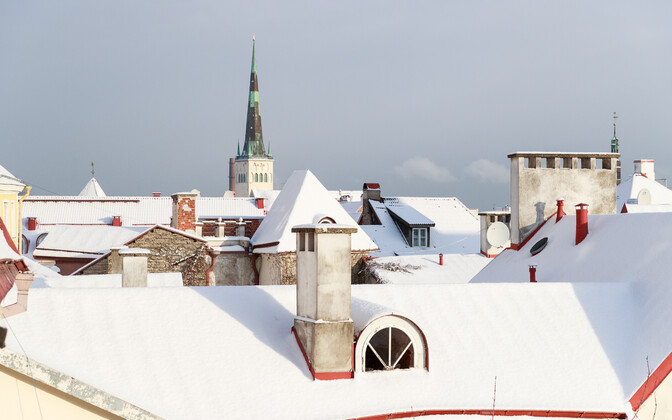 March got off to a cold and snowy start in Estonia.