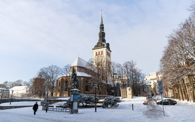 St. Nicholas' Church in Tallinn.