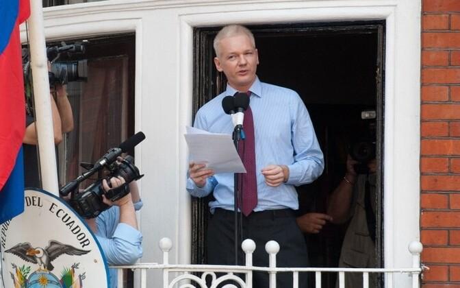 Джулиан Ассанж не выходил за пределы посольства Эквадора в Лондоне с 2012 года.