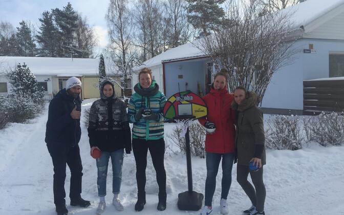 Naiste korvpallikoondislased külastasid Keila SOS Lasteküla