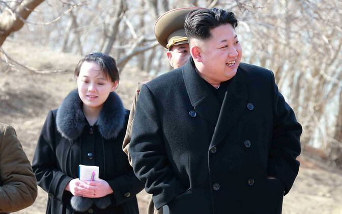 Kim Yo-jong ja tema vanem vend, Põhja-Korea diktaator Kim Jong-un.