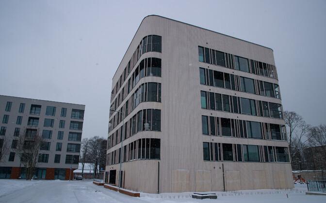 Uus korterelamu Tallinnas.
