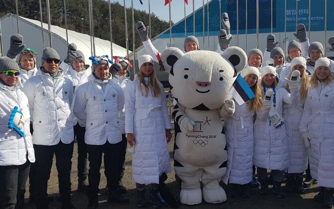 Eesti olümpiakoondis PyeongChangis