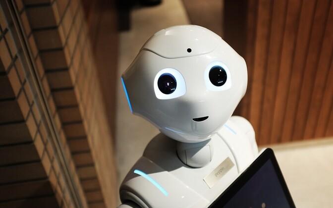 Робот. Иллюстративная фотография