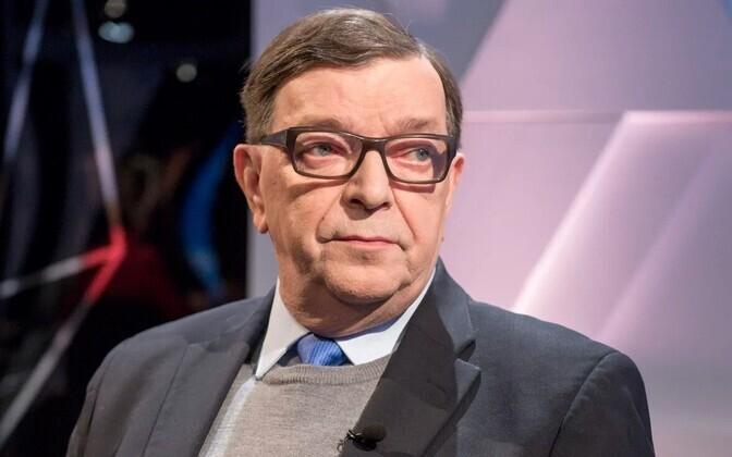 Soome poliitik Paavo Väyrynen.