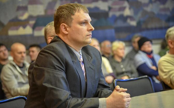 Депутат горсобрания Нарвы Алексей Мяги.