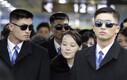 Põhja-Korea liidri Kim Jong-uni õde Kim Yo-jong 9. veebruaril Pyeongchang raudteejaamas.