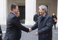 peaminister Jüri Ratas kohtus Roomas kolleeg Paolo Gentiloniga.