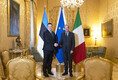 Встреча Юри Ратаса с премьер-министром Италии Паоло Джентилони.
