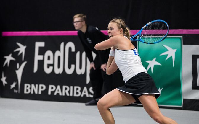Eesti - Suurbritannia Fed Cupil 2018