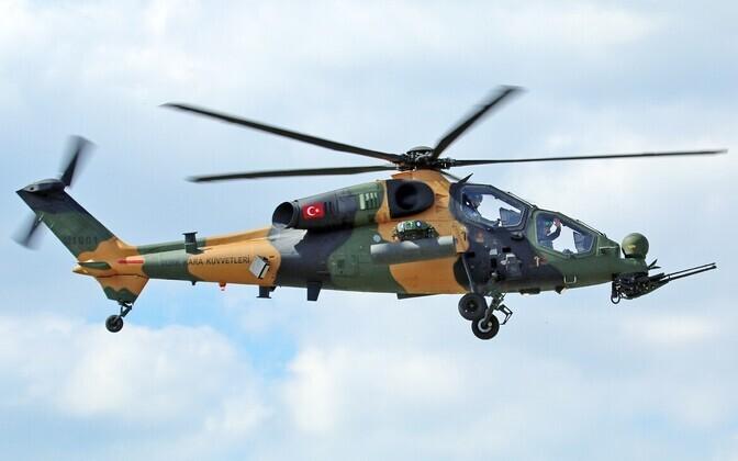 Генштаб Турции подтвердил крушение вертолета типа ATAK.