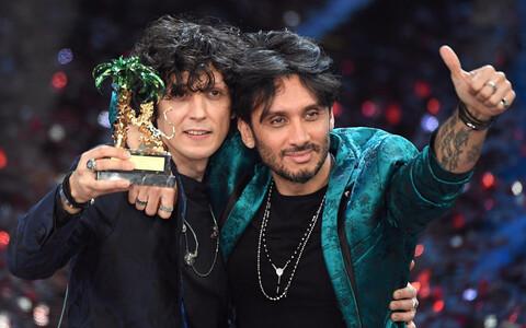 Ermal Meta ja Fabrizio Moro, Sanremo festivali võitjad