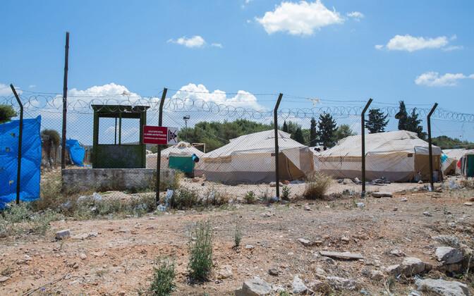 Schisto varjupaigataotlejate laager Ateena lähistel 2016. aasta septembris.